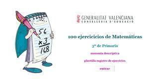 100 ejercicios de matematicas para primaria | Ticenelaula | Scoop.it