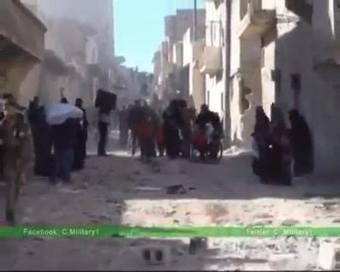 Alep-Est: les snipers tirent sur les civils évacués par l'Armée arabe syrienne | World News | Scoop.it