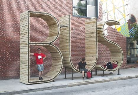 The World's Most Obvious Bus Stop Is Pure Design Genius  | Adaptive Cities | Scoop.it
