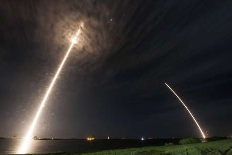 SpaceX launches Dragon spacecraft, successfully lands first stage | SpaceNews.com | The NewSpace Daily | Scoop.it