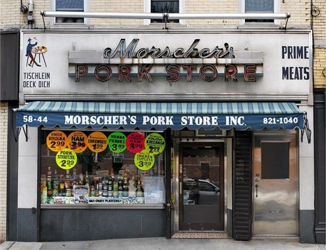 Photographing New York's Endangered Mom and Pop Stores | urban class | Scoop.it