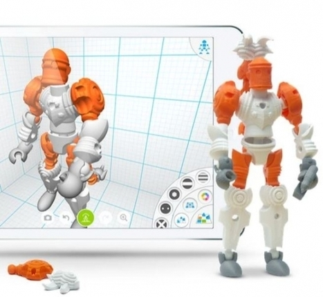 Tinkerplay By Autodesk Will Let Kids (And Kids At Heart) Design 3D Printable Toys | Cool Things for kids | Scoop.it