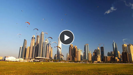 Devin Graham nous fait découvrir Dubaï à bord de parachutes à moteur | Victor, guide touristique a Dubai et dans les Emirats arabes unis pour des visites privées et sur mesure en français. | Scoop.it