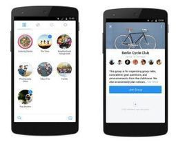 Groups. Nouvelle application de Facebook pour la discussion en groupe - Les Outils Collaboratifs | Communication digitale | Scoop.it