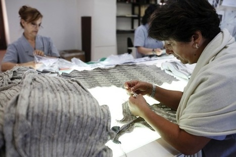 Italy Pushes $1,280 Silk Sweaters as Exporters See Slump Exit - BoF - The Business of Fashion | Business for small businesses | Scoop.it