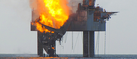 Natural Gas Rig Fire in the Gulf, Another Wakeup Call | EcoWatch | Scoop.it