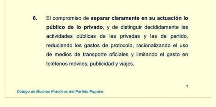 PP, buenas prácticas. Tweet from @LosGenoveses | Partido Popular, una visión crítica | Scoop.it
