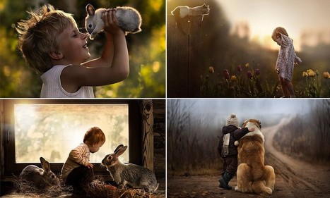 Photographs capture boys' special bond with dogs, ducks and rabbits | Photographie | Scoop.it