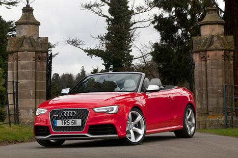 2013 Audi RS5 Cabriolet review | Carros | Scoop.it