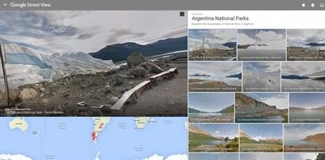 Glaciares, Patagonia, Iguazú… los parques nacionales de Argentina en Google Street View   Eines i Recursos eduTIC   Scoop.it