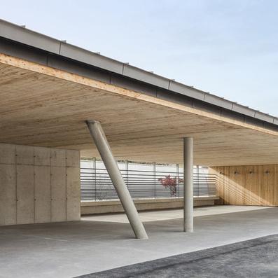 Yoonseux Architectes' school extension designed to match autumn trees | Publications | Scoop.it