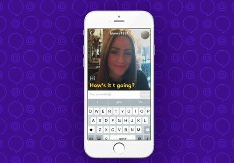 Yahoo! Livetext une messagerie combinant le texte à la vidéo, sans le son | Geeks | Scoop.it