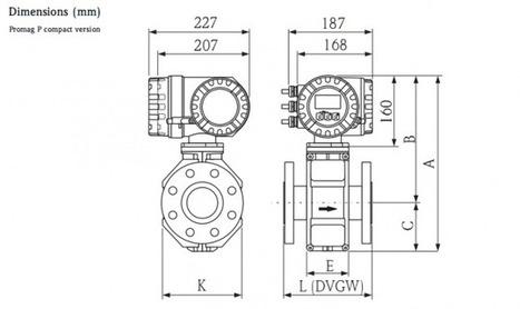 Electromagnetic flowmeter for chemical - Promag 10/50/53P   Flowmeter Endress Hauser   Scoop.it