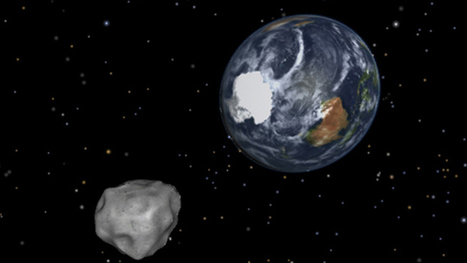 Asteroid 9 times size of ocean liner approaches Earth — RT News | promienie | Scoop.it