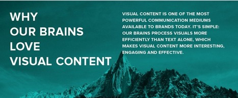 The human brain loves visual content. This is why (Infographic) | elearning stuff | Scoop.it