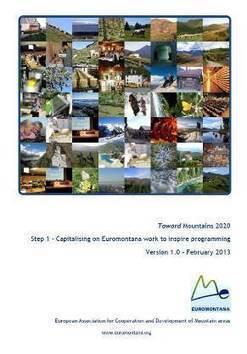 Montagnes 2020 - Thèmes de travail - Euromontana - Association européenne pour les zones de montagne | Prospective montagne 2040 | Scoop.it