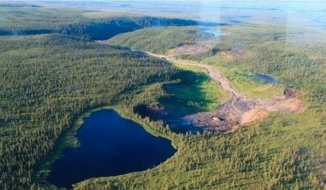 This lake in Canada's North is literally about to fall off a cliff | Conformable Contacts | Scoop.it