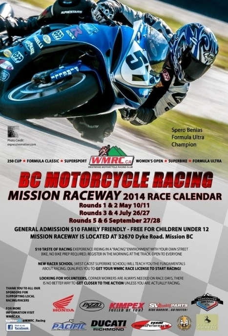 Westwood Motorcycle Racing Club preps for 2014 season   For the Thrill Seeker in You!!  My favourite hobbies!   Scoop.it