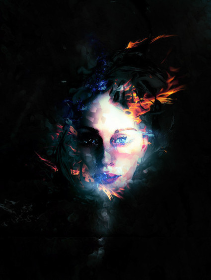 Create a Surreal Photo Manipulation by Mixing Ice and Fire Textures in Photoshop   Aware Entertainment   Scoop.it