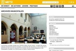 GénéInfos: Archives de Metz : le projet de mise en ligne avance... | GenealoNet | Scoop.it