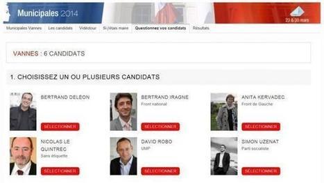 Municipales à Vannes : Questionnez les six candidats !. Info - Vannes.maville.com | Tunnel de Kérino - Vannes | Scoop.it