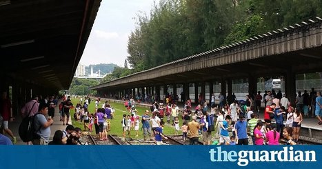Abandoned train station signals community revival in Singapore | Urban Exploration | Scoop.it