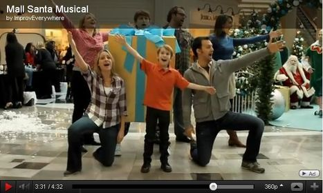 How Improv Everywhere Brought The Mall Santa Musical To Life   Transmedia: Storytelling for the Digital Age   Scoop.it