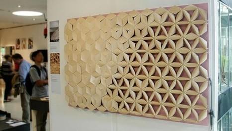 Un designer s'inspire de la pomme de pin pour développer un matériau réagissant à l'eau | Immobilier | Scoop.it