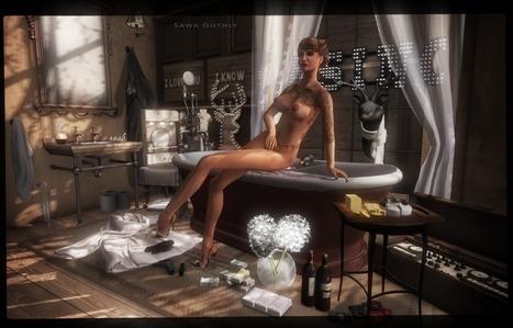 Paris is always a good idea | Second Life Sawa's Style | Scoop.it
