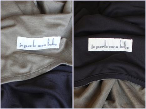 La Petite écharpe sans noeud de JPMBB | Moyen de portage (écharpe, porte-bébé...) | Scoop.it