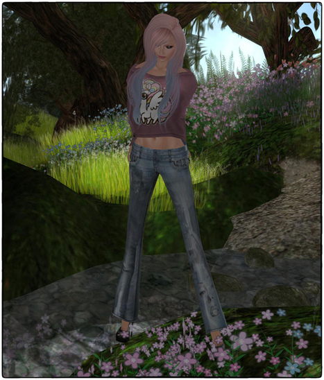 .:* SL Free for All *:.: *^☼-. Picking up some flowers .-☼^* | Second LIfe Good Stuff | Scoop.it