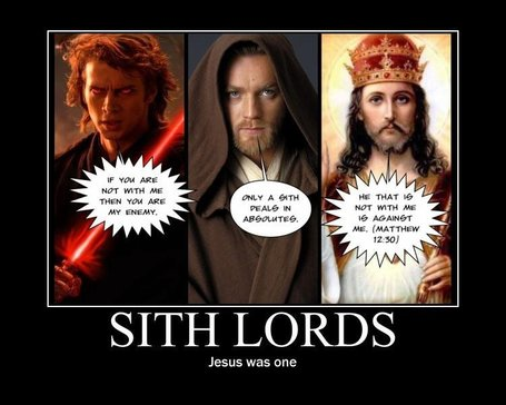 Jesus is (Sith) Lord? Science Fiction and Theology around the Blogosphere - Patheos (blog) | SFFWRTCHT | Scoop.it