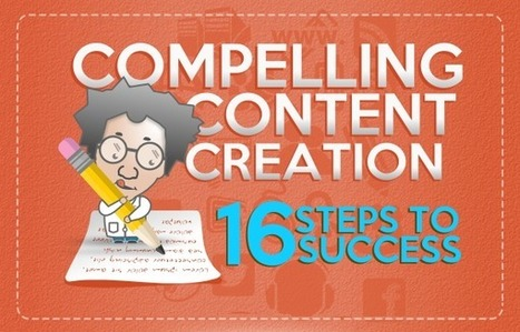16 Steps to Compelling Content Creation | search engine optimization | Scoop.it