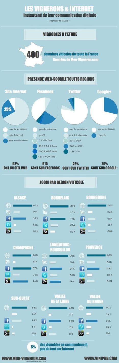 Les domaines viticoles sont-ils en train de s'approprier les outils web et les réseaux sociaux ?   Ben Wine Marketing   Scoop.it