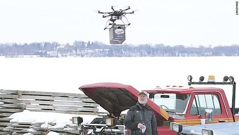 Beer-delivery drone grounded by FAA | Artisanal Brewing | Scoop.it