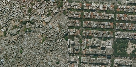 Income inequality seen in satellite images from Google Earth | digital divide information | Scoop.it