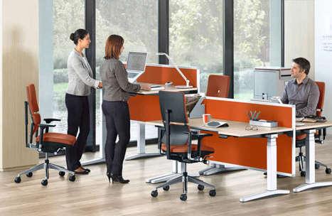 4 bonnes raisons d'adopter le bureau modulable assis-debout   Moreno Consulting   Scoop.it