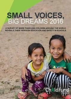 Small Voices, Big Dreams 2016 | Education Reports | Scoop.it