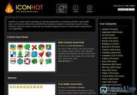 IconHot : plus de 60000 icônes gratuites à votre disposition   Freewares   Scoop.it