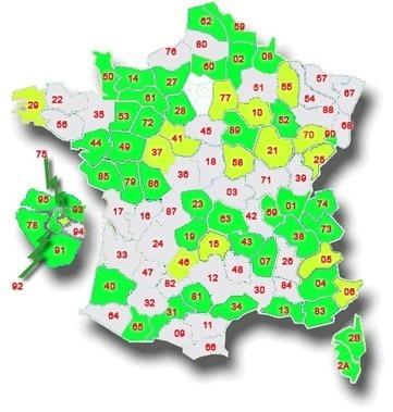 GénéInfos: La carte de France des registres matricules en ligne | GenealoNet | Scoop.it