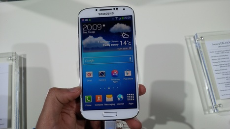 Samsung Galaxy S4 review: First impressions | London IT Support | Scoop.it