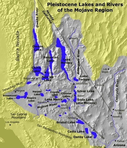 Ancient pluvial lakes of North America and what they can tell us about climate change | GeoLounge | Geographic Information Technology | Scoop.it
