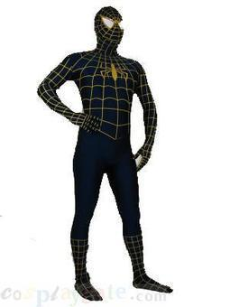 Yellow and Blue Spiderman Superhero Lycra Zentai Costume free shipping - wholesale Lycra Spandex Zentai Suits - wholesale Catsuits & Zentai - CosplayGate.Com | spiderman suit,spiderman costumes wholesale | Scoop.it