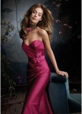 Sheath Column Sweetheart Floor Length Fuchsia Bridesmaid Dress Bbjh0016 for $345 | 2014 landybridal wedding party dresses | Scoop.it