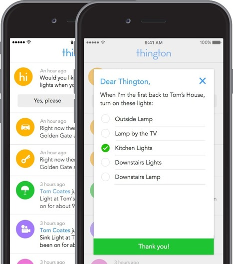 Welcome to Thington | Home Automation | Scoop.it