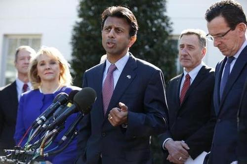Bobby Jindal: Obama 'Waving the White Flag of Surrender' on the Economy