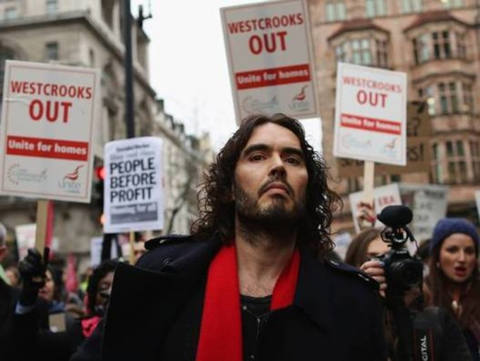 Russell Brand's revolution is working. And here's the proof | real utopias | Scoop.it