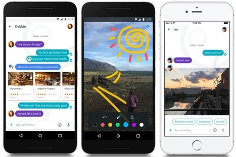Allo brings Google's smarts to messaging | #SocialMedia | Social Media and its influence | Scoop.it