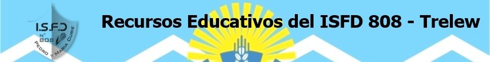 Recursos educativos del ISFD 808