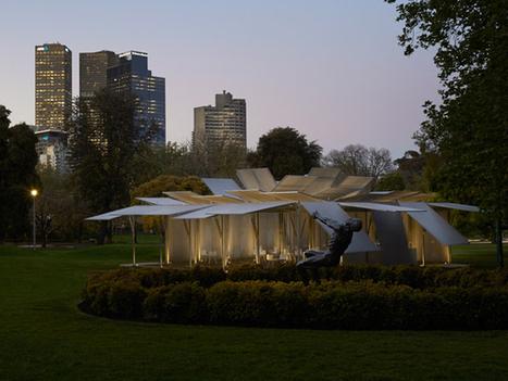 MPavilion / Sean Godsell Architects - eVolo | Architecture Magazine | Architectural & Design Solutions | Scoop.it